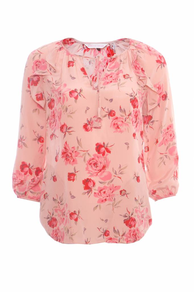 Rebecca taylor rebecca taylor pink blouse with romantic flower rebecca taylor rebecca taylor pink blouse with romantic flower print in size 0xs mightylinksfo