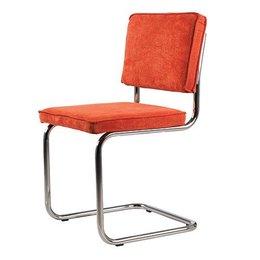 Functionals Eetkamerstoel Oranje Zilver