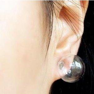 1 Paar Ohrringe f. UV Gel + 72 Steine
