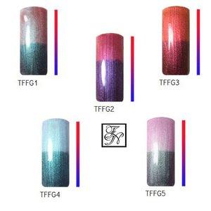 5x Flip Flop Thermo UV Farbgel