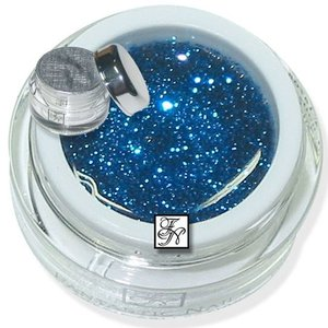 Glitter Gel Blau-Sparkle