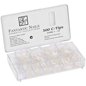 Nageltips 500 C + Acryl-Box