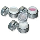 UV-Gel Set 4er (klar, french, rosa, pearl)