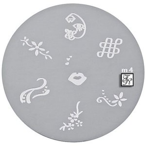 Nail Stamping Schablone M4
