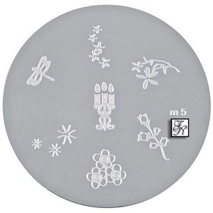 Nail Stamping Schablone M5
