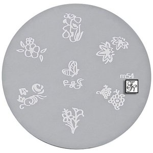 Nail Stamping Schablone M54