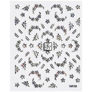 Naildesign Hologramm Nagelsticker Nr.60