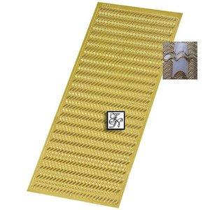 Zierstreifen Nagelsticker XL-BOGEN Nr.66