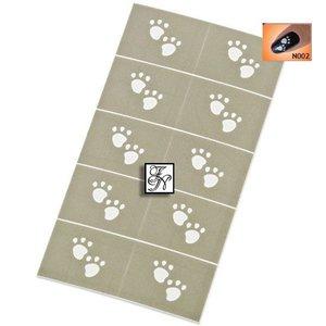 Nailart Nail Stamping Schablone Nr.002