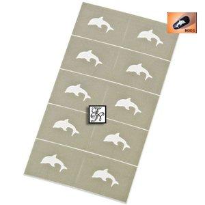 Nailart Nail Stamping Schablone Nr.003