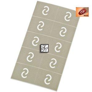 Nailart Nail Stamping Schablone Nr.004