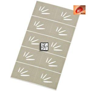 Nailart Nail Stamping Schablone Nr.006