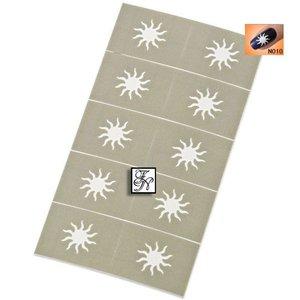 Nailart Nail Stamping Schablone Nr.010