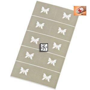 Nailart Nail Stamping Schablone Nr.012