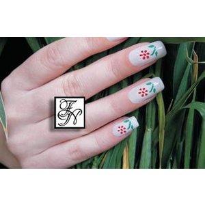 Nailart Nail Stamping Schablone Nr.015