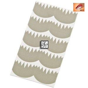 Nailart Nail Stamping Schablone Nr.017