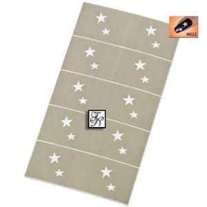 Nailart Nail Stamping Schablone Nr.022