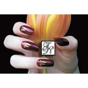 Nailart Nail Stamping Schablone Nr.024