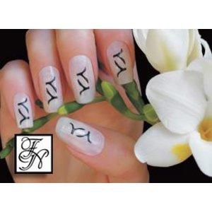 Nailart Nail Stamping Schablone Nr.027