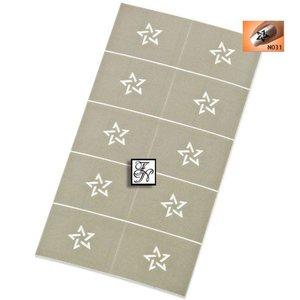 Nailart Nail Stamping Schablone Nr.031