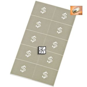 Nailart Nail Stamping Schablone Nr.035