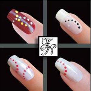 Nailart Nail Stamping Schablone Nr.038