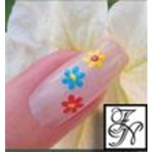 Nailart Nail Stamping Schablone Nr.040