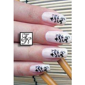 Nailart Nail Stamping Schablone Nr.043