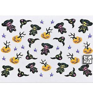 Halloween Nail Sticker H4