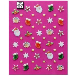 Nagelsticker Weihnachten 3D Nr.2