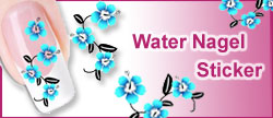 Water Nagel Sticker