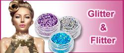 Nailart - Glitter und Flitter