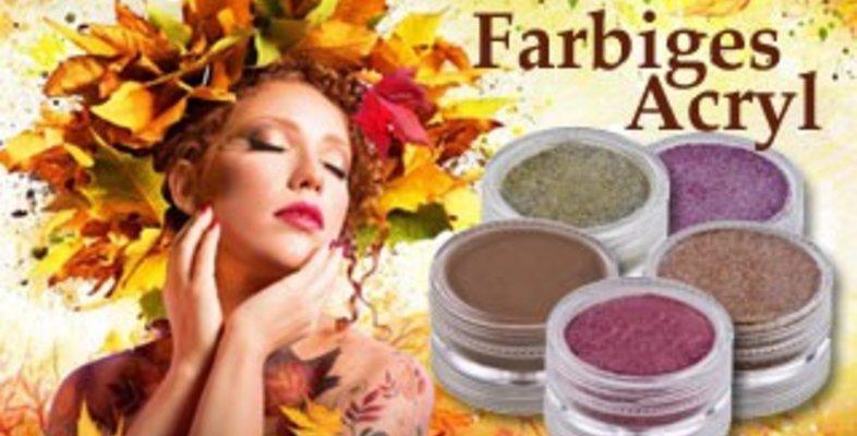 Farbiges Acryl Pulver günstig im Nail Shop kaufen
