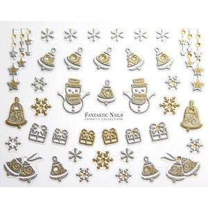 Nagelsticker Weihnachten 3D Nr.051