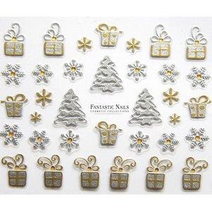 Nagelsticker Weihnachten 3D Nr.060