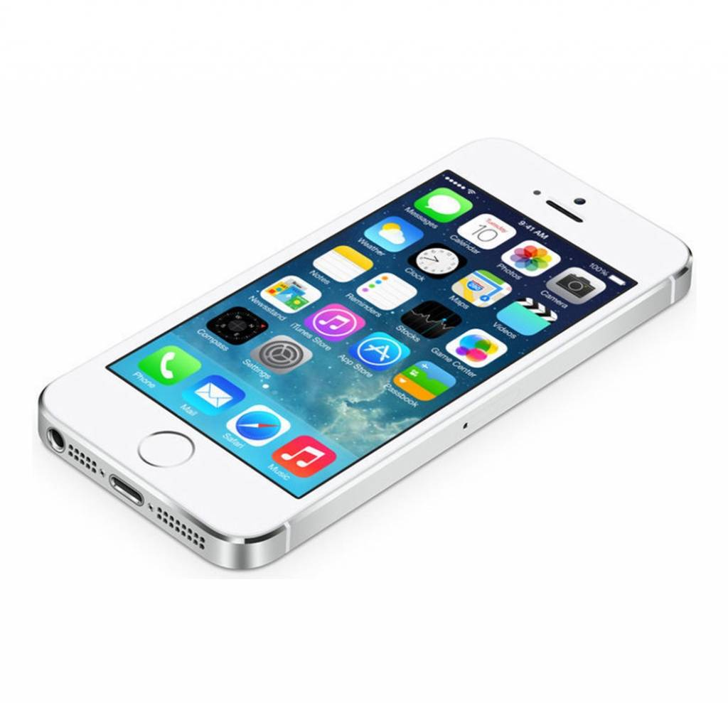 goedkope nieuwe iphone 5s wit silver 32gb inclusief 12. Black Bedroom Furniture Sets. Home Design Ideas