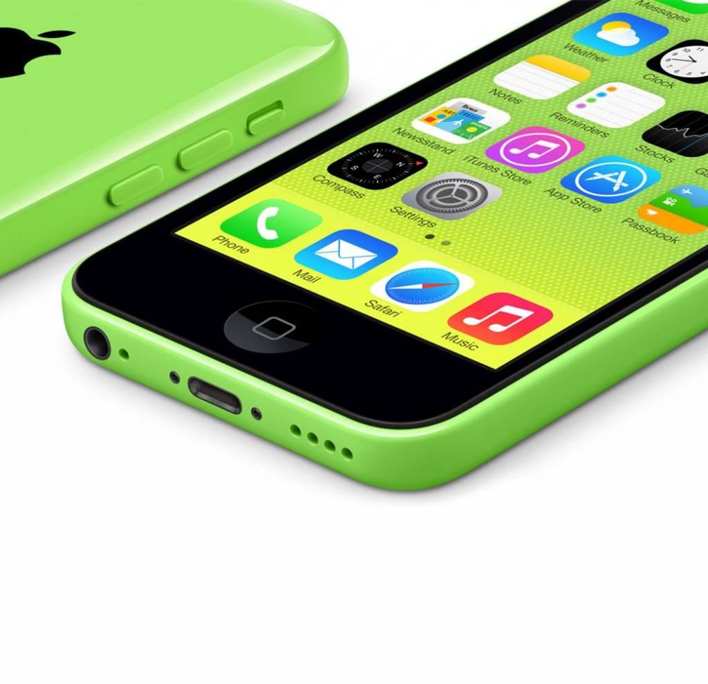 goedkope nieuwe iphone 5c 32gb groen green inclusief 12. Black Bedroom Furniture Sets. Home Design Ideas