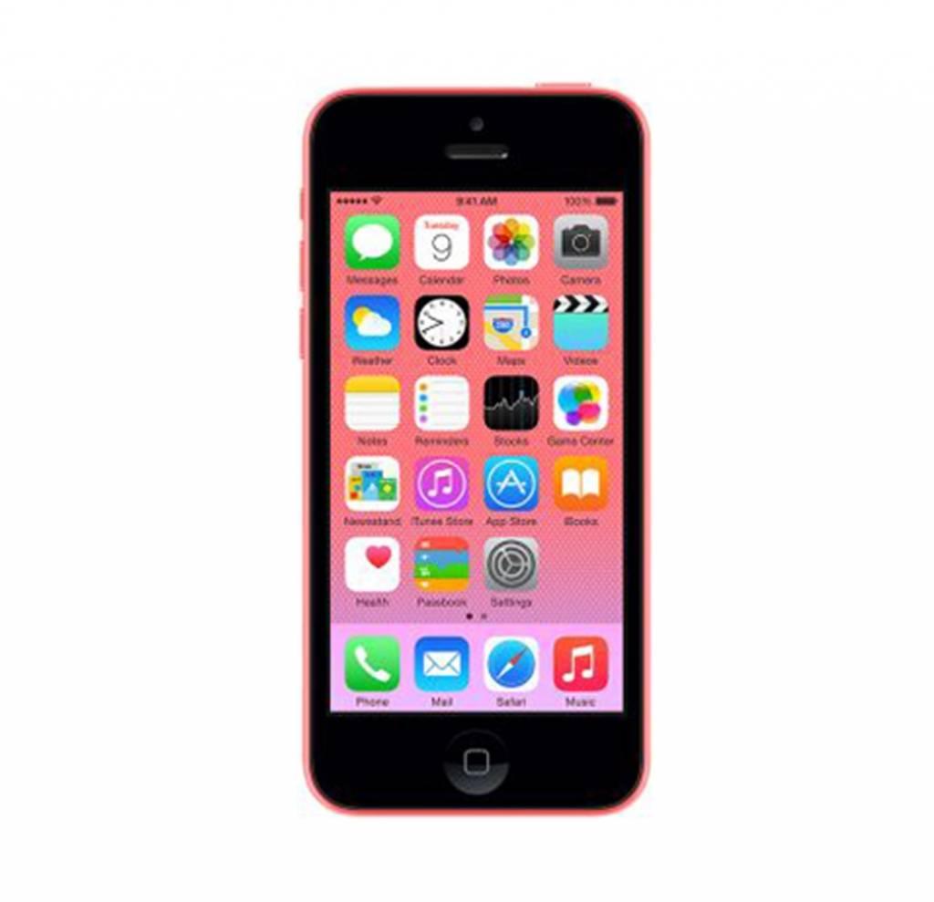 goedkope nieuwe iphone 5c 32gb roze pink inclusief 12. Black Bedroom Furniture Sets. Home Design Ideas