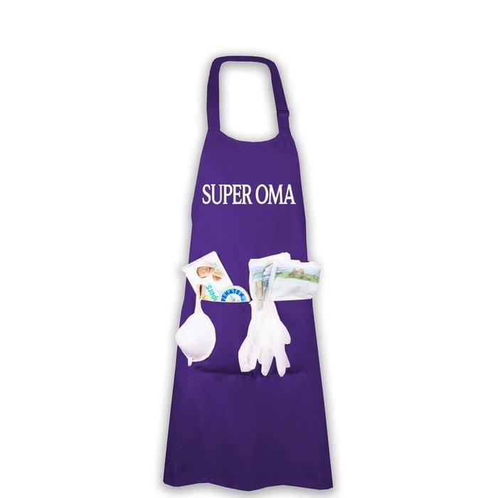 """Super Oma"" Windelschürze"