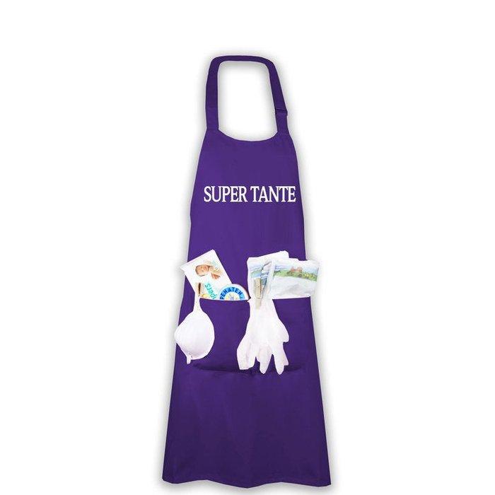 """Super Tante"" Windelschürze"