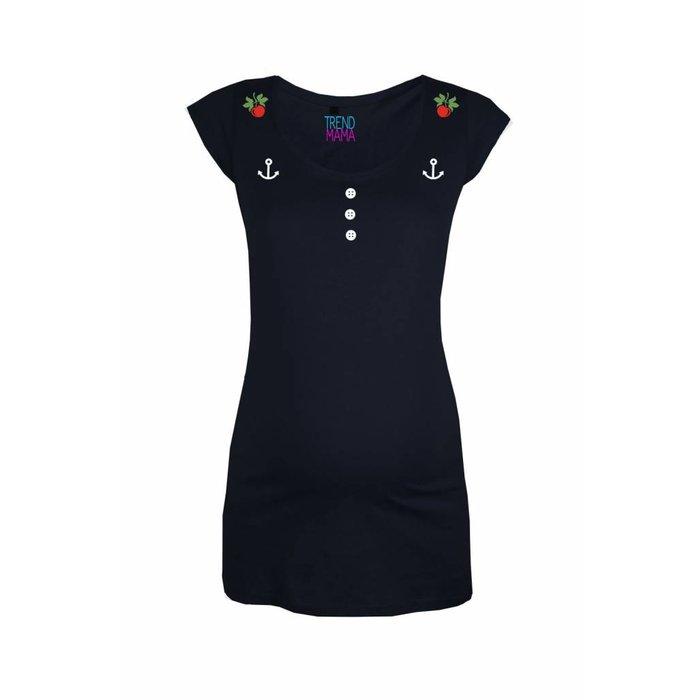 """Rockabella Mom® - Cherry Button"" Umstandsmode Shirt Cathy"