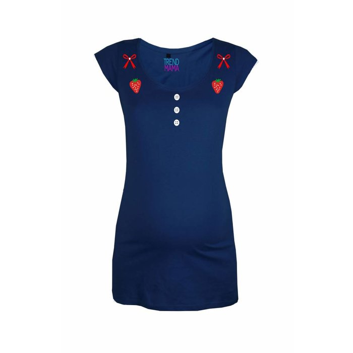 """Rockabella Mom® - Strawberry"" Umstandsmode Shirt Cathy"