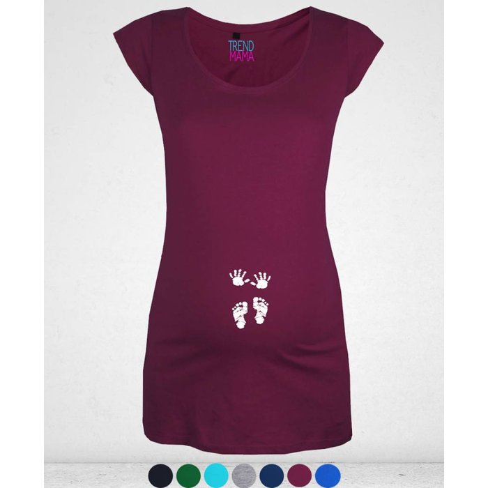 """""""Babyhändchen und Füßchen"""" Umstandsmode Shirt Cathy"""