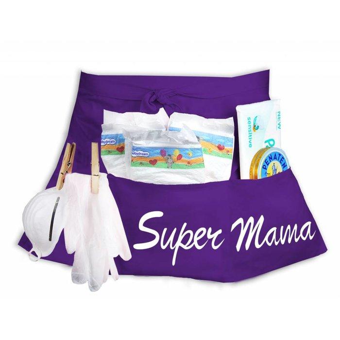 """""""Super Mama"""" Windeltasche Windel Starter-Set"""