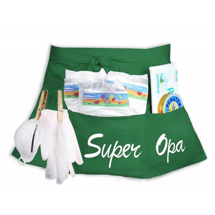 """""""Super Opa"""" Windeltasche Windel Starter-Set"""