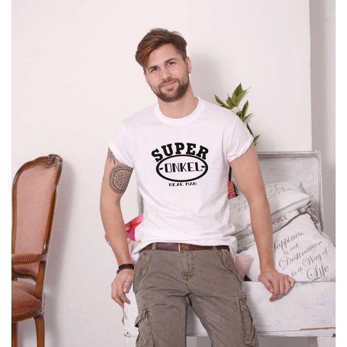 """T-Shirt """"Super Onkel """"T- Shirt"""