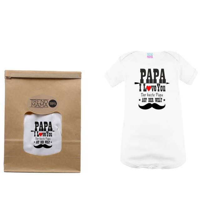 "Baby Body "" Papa I Love you"""