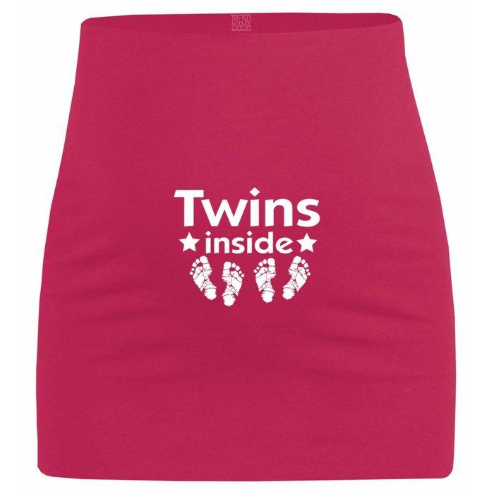 "Umstandsmode Bauchband ""Twins Inside"""