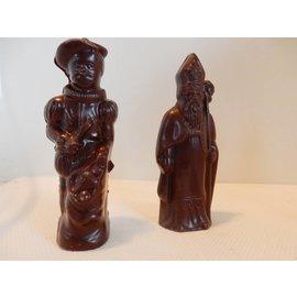 Victoria's Sweets Sint en Piet Donkere chocolade - Victoria's Sweet