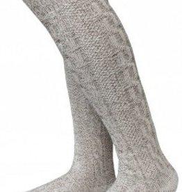 Sokken gemeleerd Bruin